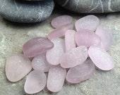 Genuine Sea Glass Beach Glass Jewelry Quality Surf Tumbled Lavender Amethyst Purple
