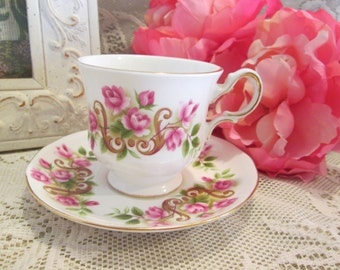 Sweet And Pretty Tea Cup & Saucer