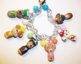 paw patrol  charm bracelet