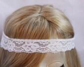 Lace headband Hippie Headband Hair Bands Boho Headband Lace headband