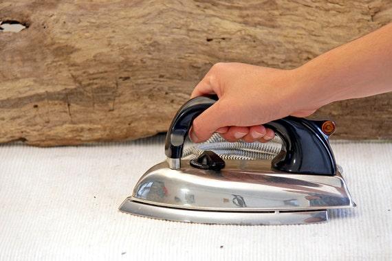 vintage morphy richards electric iron by butanika on etsy. Black Bedroom Furniture Sets. Home Design Ideas