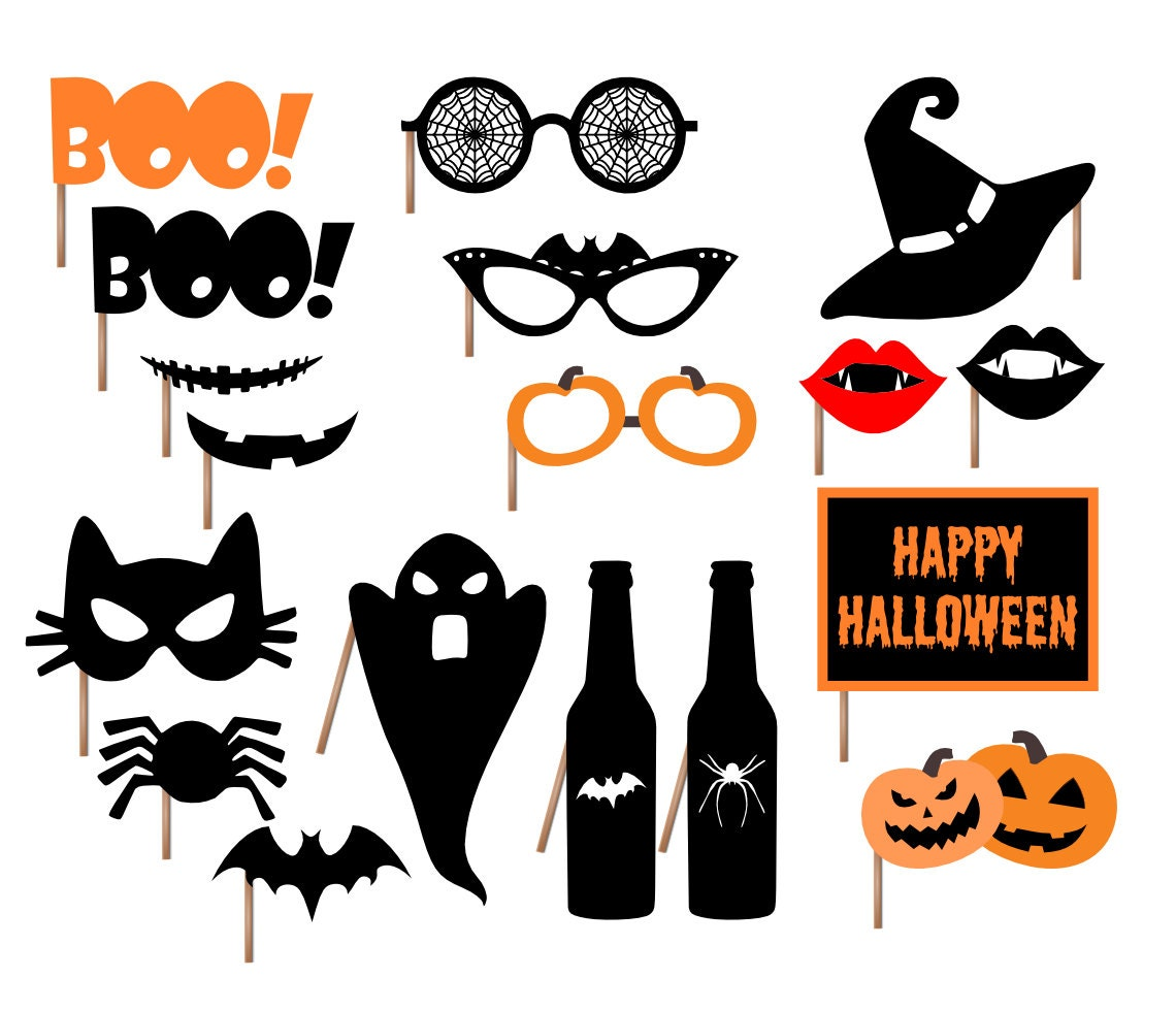 It's just a photo of Priceless Halloween Photo Booth Props Printable Free