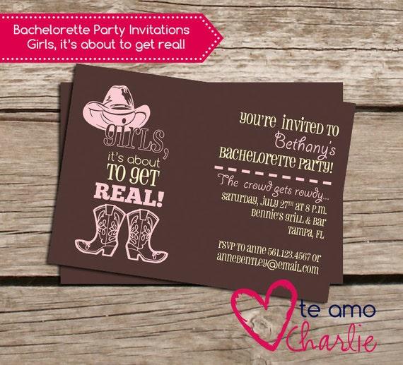 Western Theme Birthday Invitations as perfect invitations design