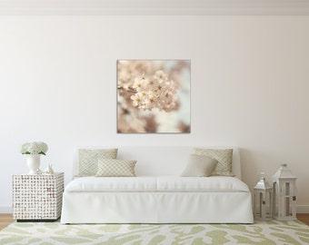 Soft & Dreamy -  Canvas GALLERY WRAP - Cherry Blossom, Spring, Washington, D.C., White, Whimsical, Wall, Art, Dreamy, Decor, Nursery, Baby