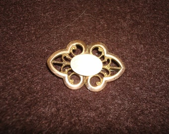 Vintage Gold Filled Watch Brooch Pin