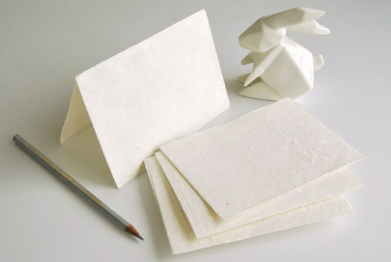 Card Making Kit 10 Set Of Blank Cards Made Of Mulberry
