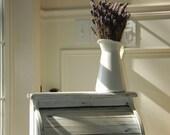 Shabby, cottage style vintage breadbox/decorative storage box