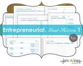 Entrepreneur Must-Haves Printable Pack Part 1 - INSTANT DIGITAL DOWNLOAD