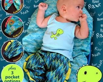 Baby Harem Pants | the knit cafe