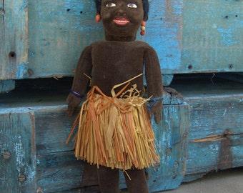 "14.5"" Norah Wellings Tribal ""Dudu"" Doll in Original Box"