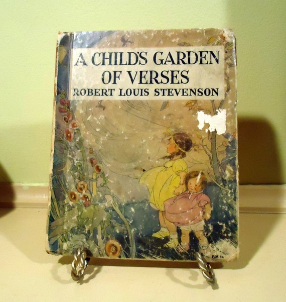 A Child 39 S Garden Of Verses By Robert Louis Stevenson 1934