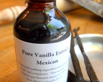 Pure Mexican Vanilla Extract, Hostess Gift, Foodie Gift