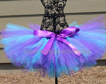 Purple and Turquoise Tutu - Birthday Tutu