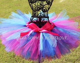 Beautiful Abby Cadabby Tutu - Birthday Tutu - Newborn up to size 4T