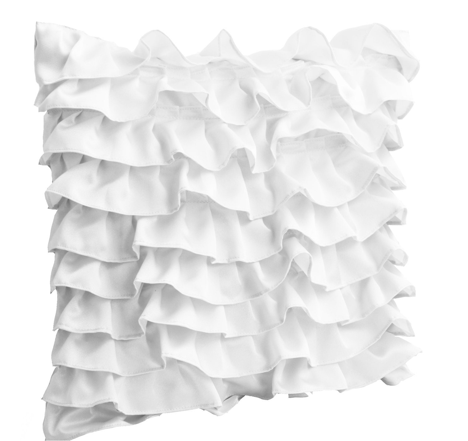 zoom - White Decorative Pillows