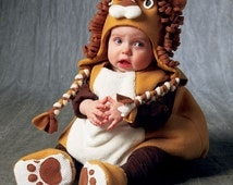 McCalls 6812 / MP312 Halloween Costume: Lion, Pig, Bear, and Giraffe Toddlers  size 1/2-1-2-3-4