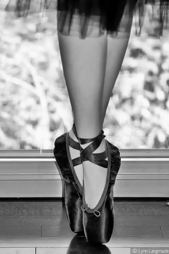 the gallery for gt ballet pointe shoes black and white