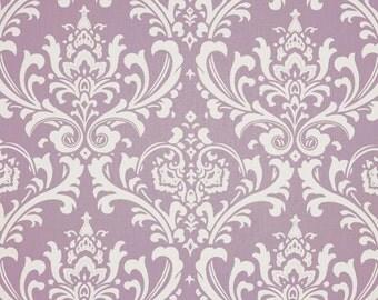Handmade Curtain/Valance 50W x 15L in Wisteria Ozborne 100% Cotton Home Decor