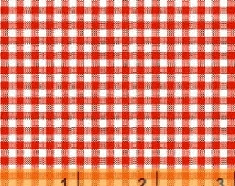 Red Gingham Check by Windham Fabrics