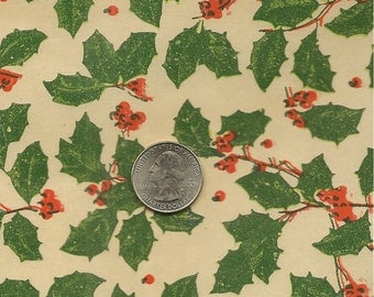 1940's Store Christmas Wrapping Paper 3 yds