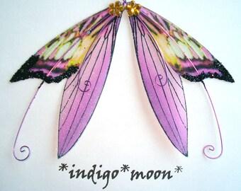 OOAK Fairy Pixie Fantasy Art Doll Wings ADSG IADR