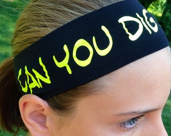 Volleyball Headbands - Can You Dig It