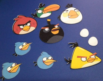 Angry Bird Die Cuts