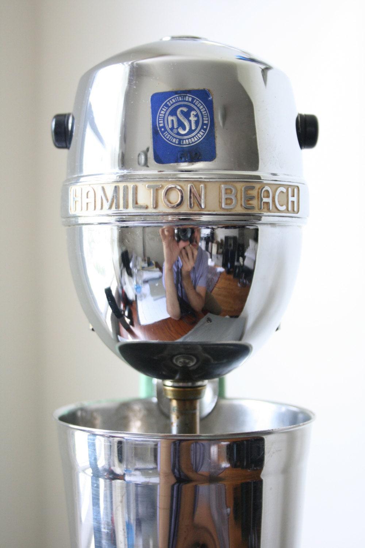 Hamilton Beach Milkshake Mixer Model No 933 Circa 1950s