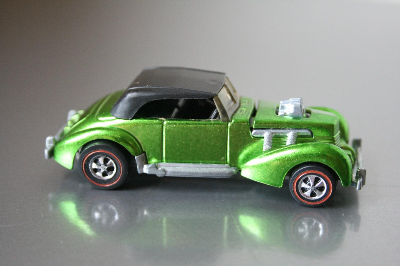 Original 1970 Hot Wheels Classic Cord Redline Metallic