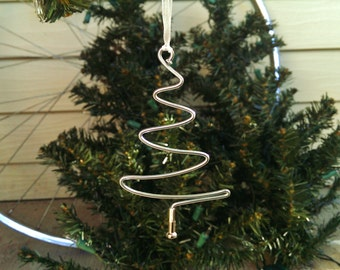 Bike Spoke Christmas Tree Ornament