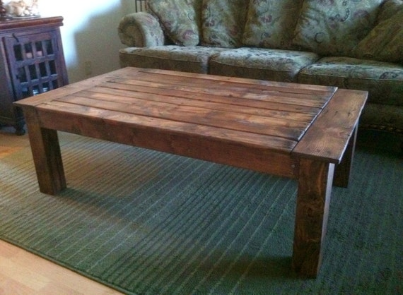 Items Similar To Rustic Reclaimed Wood Pallet Coffee Table On Etsy