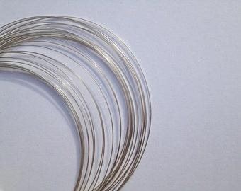 999 Fine Silver Wire, 14ga,  Round, Dead Soft,  Wholesale