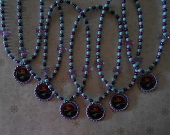 Brave Party Favor Stretch Necklaces Set of 6