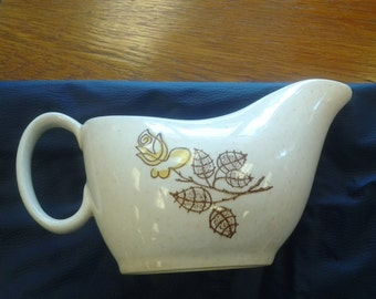 On Sale Vintage Yellow Rose Gravy Boat