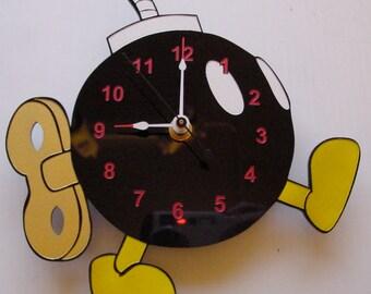 Super Mario Bob-omb clock