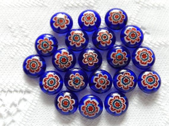 https://www.etsy.com/listing/167640161/20-cobalt-blue-red-white-flower-puffed