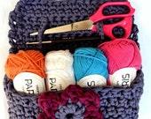 Crochet bag, to take CROCHET PATTERN