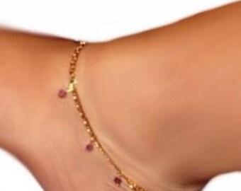 Dancer classy anklet bracelet