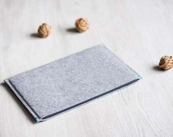 Sony Xperia Tablet Z4, Z2, Z case / sleeve, light grey felt