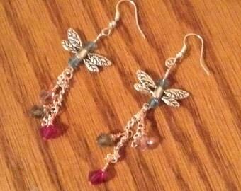Colorful Faerie Earrings