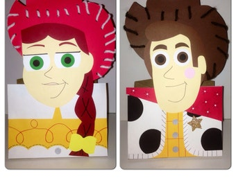 Toy story party decorations, toy story party bags, buzz party bags