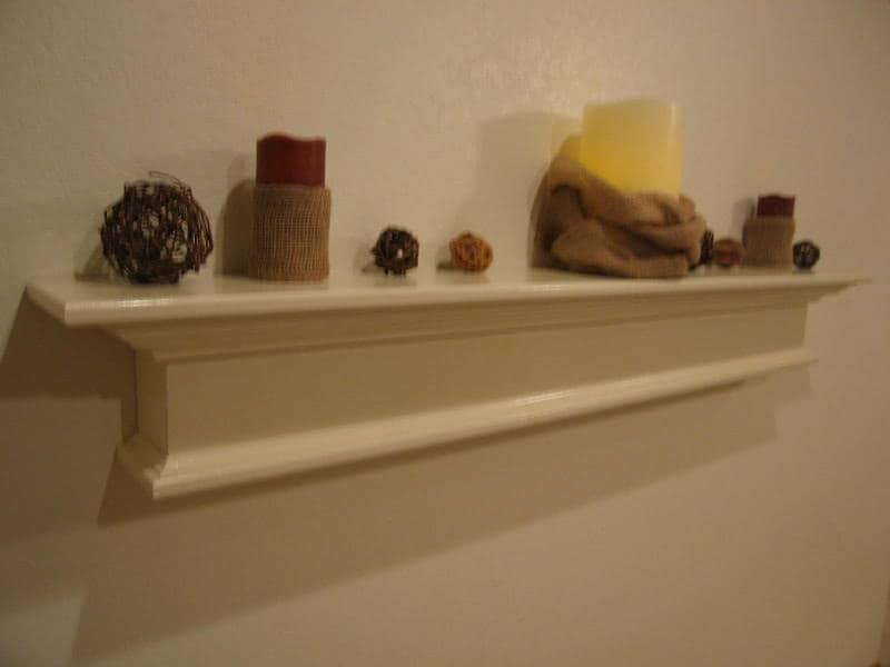 Modern Floating Wall Shelf The Laurels