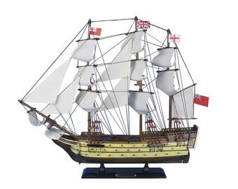 """HMS Victory 20"""" Model Boat / British Royal Navy Age of Sail Model Boats / Warship / English War Ships"""