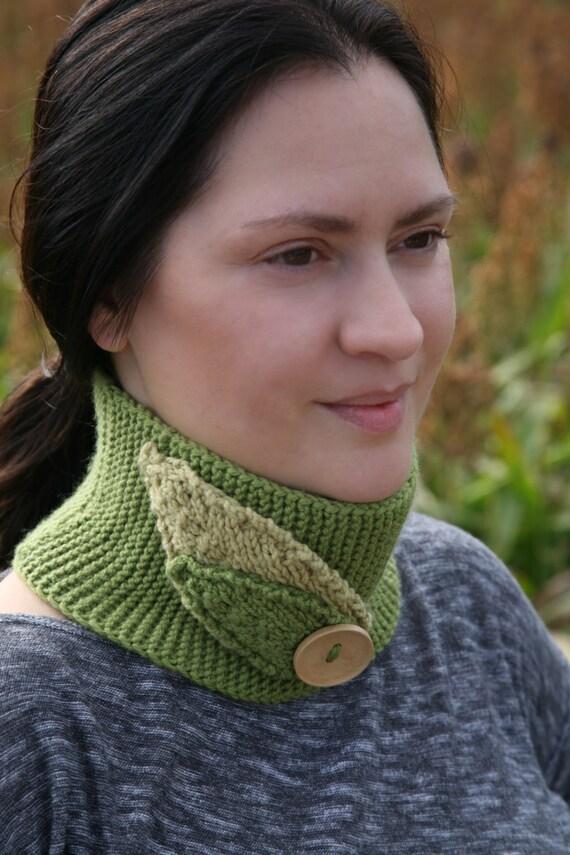 Reversible Headband Knitting Pattern : Knitting Pattern - Cowl neck warmer or headband with ...