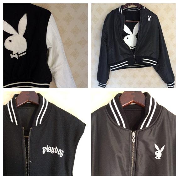 Playboy leather jacket