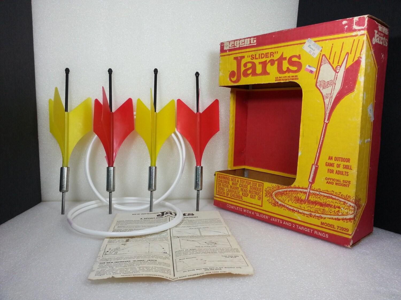 Video Game Bedroom Decor Vintage Regent Slider Jarts Lawn Darts Model 73929 Full