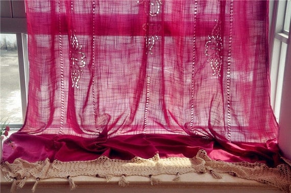Country lace curtains 2