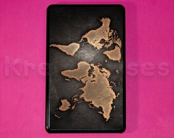 kindle fire hd 7'in- world map kindle fire hd case