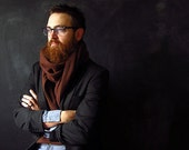 ONLY ONE LEFT! Handmade Men's Melton Winter Scarf. - sonofsoren