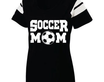 Short Sleeve, Screen Printed, Soccer Mom T-Shirt